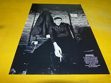 JOY DIVISION - IAN CURTIS - Mini poster Noir & blanc !!!