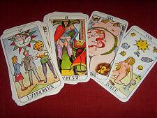 22 arcanes - Tarot humoristique et érotique jeu de cartes divinatoire oracle