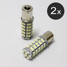 2 x 68 SMD Super Blanc Ampoules à DEL Lumière Wedge 168 194 W5W Tail Light