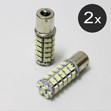 2 x 68 SMD Super White LED bulbs Light Wedge 168 194 W5W Tail Light