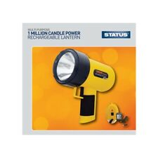 1 Million Candle Power - Rechargeable - Hand Held Torch - Yellow new powerfull