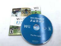 Wii Sports (Nintendo Wii, 2006) No Manual