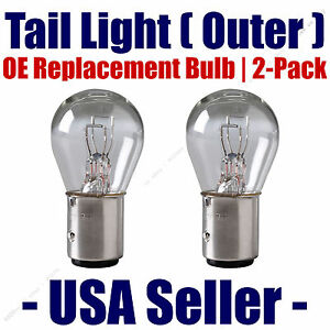 Tail Light Bulb Outer 2pk OE Replacement Fits Listed Mercedes-Benz Vehicles 7528