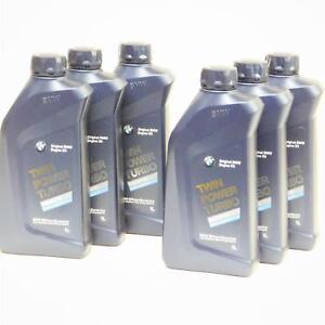 6 Liter Original BMW TwinPower Turbo 5W-30 Motoröl Longlife-04 LL04  6L