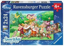 PUZZLE LOS 7 ENANITOS DISNEY 2 x 24 Piezas NAINS DWARFS NANI RAVENSBURGER 08859