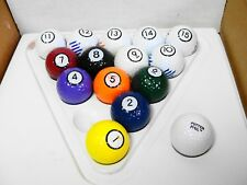 Executive Putter Pool Golf Game Replacement Ball CHOICE OF ONE parts