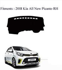 Dash Mat Cover Black Color for 2018 All New KIA Picanto RH Drive