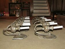 8- 2L VINTAGE SCONCES SILVER LRG 12HX11WX6-1/2 BACKPLATE 5 LBS ALL save 800.00A1