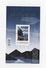 Canada 2007 Captain Vancouver used SS of postage stamp