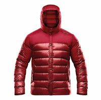 half off 11167 a6741 ADIDAS PORSCHE DESIGN MENS JACKET RED SPORT WINTER LIGHT DOWN COAT AA3253 S  M L