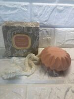 Vintage Retired Chantilly Houbigant Shower Hanging Soap On Rope