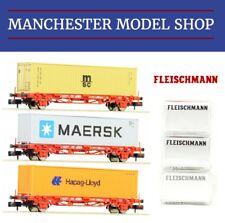 Fleischmann 931882 N Gauge Digital Startset BR 204 Mit Container Train Press