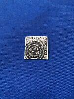 Denmark Stamps,3, Scott#2,2b(Imperf Pr), 1851,Used,CatVal:$150US,Pr:$25US(2054)