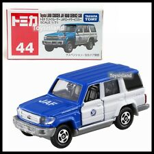 TOMICA 44 Toyota Land Cruiser JAF Road Service Car 1/71 TOMY DIECAST 2018 JAN