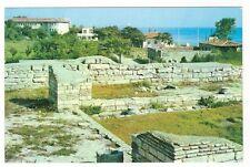 28/673 ak Mangalia sud. las ruinas de la fortaleza kallatis