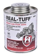 Hercules Real-Tuff 15625 PTFE Thread Sealant 16 oz / 1 PT. Can w/ Brush