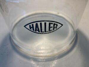 Haller / Saffire kerosene heater glass, original Haller