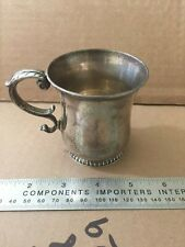 TIFFANY & CO. STERLING SILVER CUP /MUG  5031??