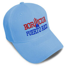 Dad Hats for Men Puerto Rico Flag Island B Embroidery Flags Women Baseball Caps