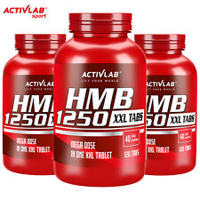 HMB 1250 120 Tablets - Lean Ripped Muscle Mass Builder Anabolic Anticatabolic