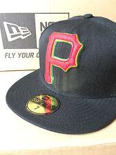 BNWT New Era Pittsburgh Pirates  59FIFTY Fitted Caps MLB Baseball Cap