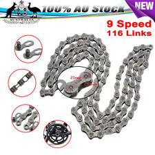9 Speed 116 Links Cn-hg73 MTB Bike Bicycle Chain for Shimano Deore LX 105