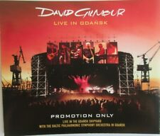 "DAVID GILMOUR (PINK FLOYD) - PROMO BOX ""CD x 2"" & ""DVD X 2"" ""LIVE IN GDAŃSK"""