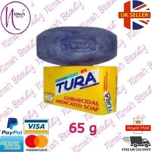 Tura Original Germicidal Medicated Soap 65 gm Pack of 1,3,6,12 soaps