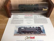 Locomotive HO CLUB JOUEF série limitée très bon état tube 141-TA-482
