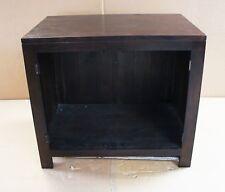Damaged Solid WENGE Oak 90 x 60cm Vanity Sideboard Cabinet Cupboard TV Cabinet