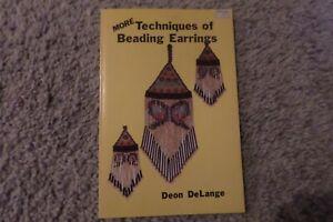 MORE Techniques of Beading Earrings Deon DeLange 1985