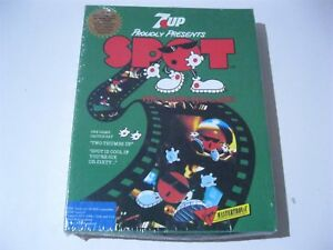 """Spot The Computer Game PC 3.5"""" disks Virgin Mastertronic 1990 7-Up"""