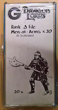 Grenadier Fantasy Lords - 331 Men-at-Arms x 20 Battleset (MiB, Sealed)
