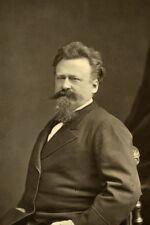 Gustave Jundt painter old Mulnier France Photo 1875'