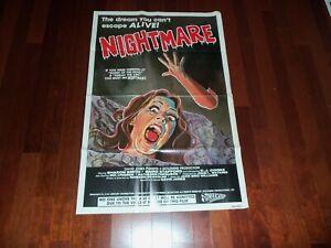 1981 NIGHTMARE 1SH HORROR