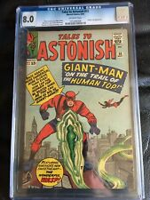 TALES TO ASTONISH #55 CGC VF 8.0; OW; Kirby Giant-Man cover (5/64)!