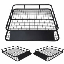 Universal Roof Rack Basket Car Top Luggage Carrier Cargo Holder Travel(48 x 40)