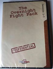 The Overnight Fight Pack Dvd, Lessons 1-7 Brand New!