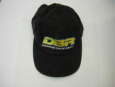 Diamondback Racing DBR cap, embroidered baseball cap, black, cotton