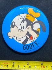 Disney Pin Button - Goofy - Walt Disney Productions