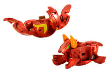 Bakugan Pyrus Red Sky and Gaia Dragonoid 2 Combined into 1