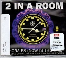 (BU964) 2 In A Row, Ahora Es (Now Is The Time) - 1995 DJ CD