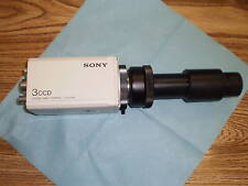 Sony DXC-960MD Color Video Camera w/ Diagnostic Instruments.<