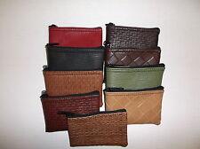 10 Piece Assorted Premium Designer 5x3 Zipper Pouch / Cluth Coin Bag Organizer