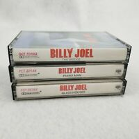 3 Billy Joel Cassette Tapes Piano Man The Bridge Glass Houses 1980s Soft Rock