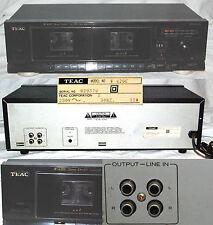 Teac  W- 420C Stereo Double Cassette (Doppio Lettore di Cassette)