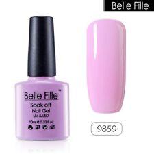 BELLE FILLE Soak Off Gel Polish UV LED Nail Manicure DIY Candy Color Varnish