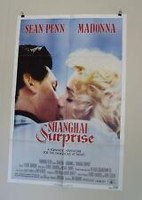 "SHANGHAI SURPRISE ORIGINAL USED American MOVIE POSTER 1986 27"" X 41 Penn/Madonna"