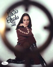 "(SSG) MARTINE BESWICK Signed 8X10 ""James Bond"" Photo - JSA (James Spence) COA"
