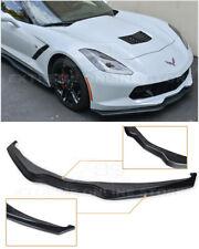 Z06 Stage 2 ABS PLASTIC Front Bumper Lower Lip Splitter For 14-19 Corvette C7